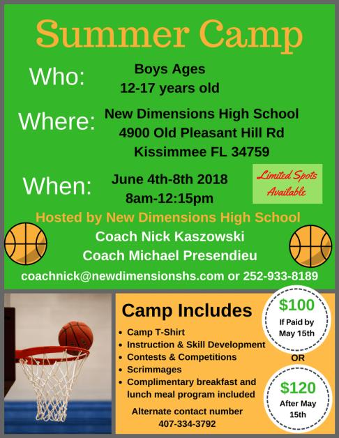 bball Summer camp