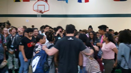 Marc Mero Visits NDHS with a special message of hope.